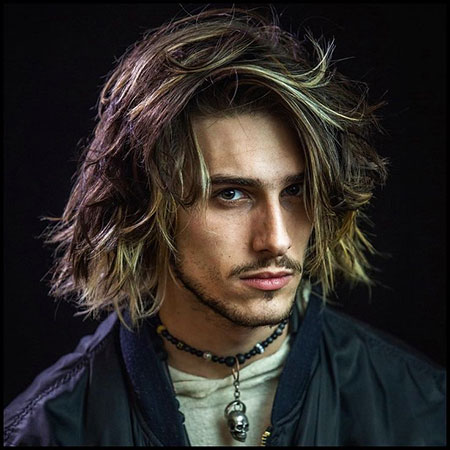 Layered Hairtyle for Men, Long Styles Hair Leto
