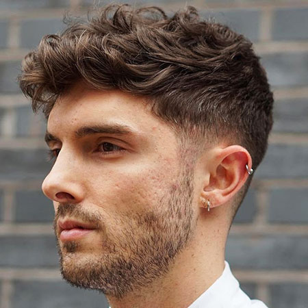 Mens Hairtyle for Thick Hair, Hair Wavy Thick Haircuts