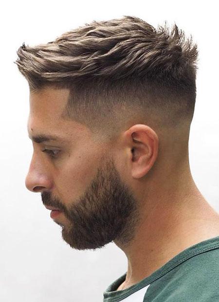 33 Trendy Mens Haircuts Cool Men S Hairstyles 2018