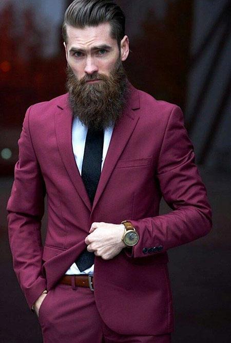 Beard Suits Mens Jamie