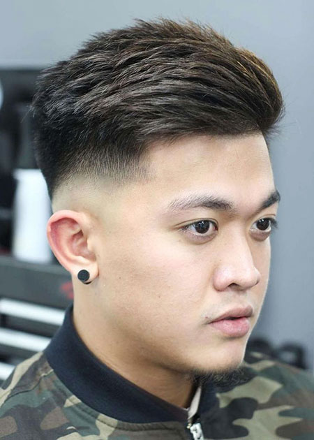 Fade Asian Haircuts Hairtyles