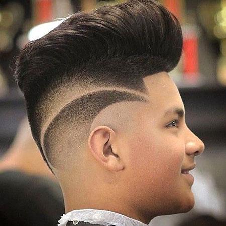 Hair Fade Haircuts Pompadour