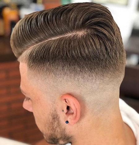 Fade Haircuts Hair Part