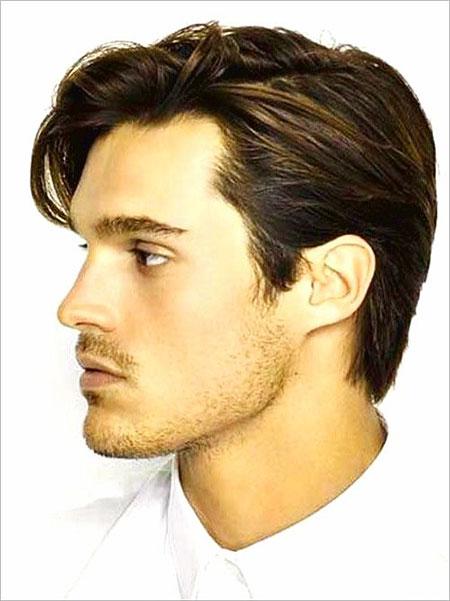 Mens Medium Hairtyles Haircuts