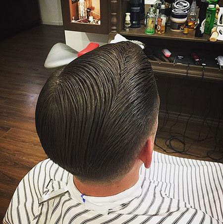 Hair Slicked Looking Cuts