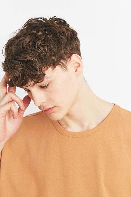 Hair Shawn Mens Curls
