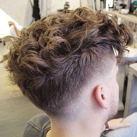 Hair Curly Wavy Fade