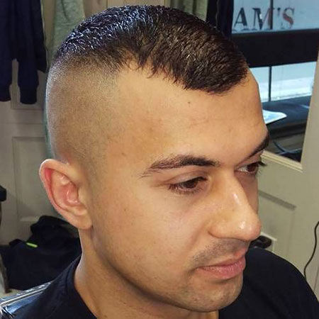 Hairline Receding Hair Fade