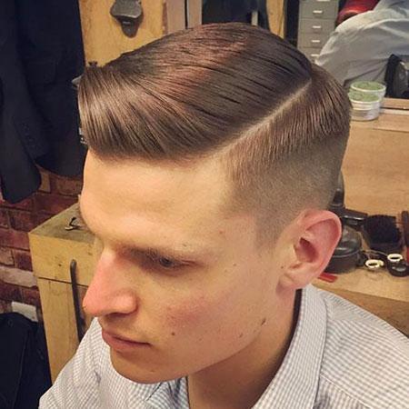 Hair Part Side 1940