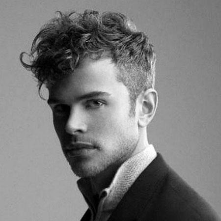 Curly Wavy Hair, Hair Curly Haircuts Men