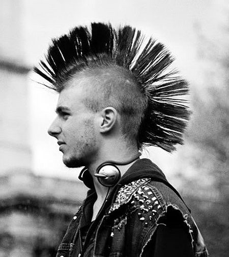 Mohawk Hair, Mohawk Rock Punk American
