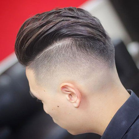 Hair Top Long Sides