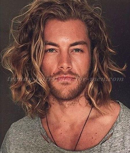 Hair Long Brad Pitt