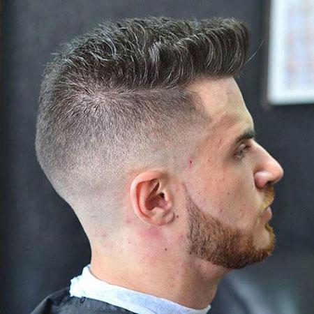 Fade High Quiff Haircuts