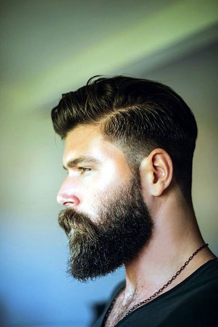 Beard Fade Haircuts Low