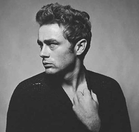 Casual Curly Hairtyle for Men, Curly Celebrity James Dean