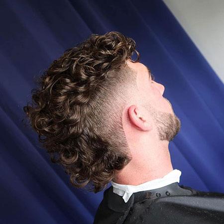 Curly Mohawk, Curly Bob Short Mohawk