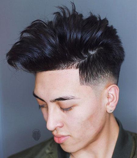 Asian Style Fade Hair for Guys, Fade Hair Hairtyles Just