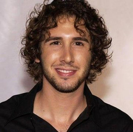 Cute Shaggy Haircut, Curly Josh Cornell Dark