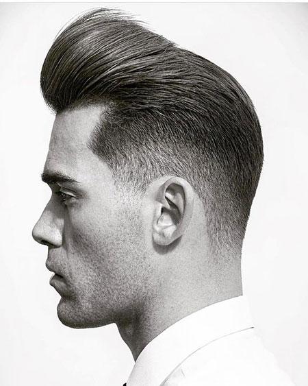 Straight Pompadour Haircut, Hair Straight Pompadour Haircuts