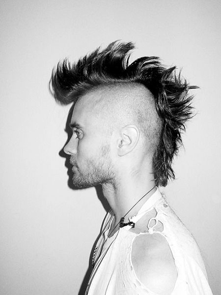 Jared Punk Hair, Jared 30 Punk Guys