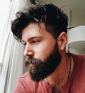 Messy and Cool, Beard Medium Styles Jamie