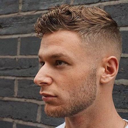 Mens Hairtyles Haircuts Wavy