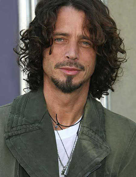 Curly Chris Cornell Celebrities