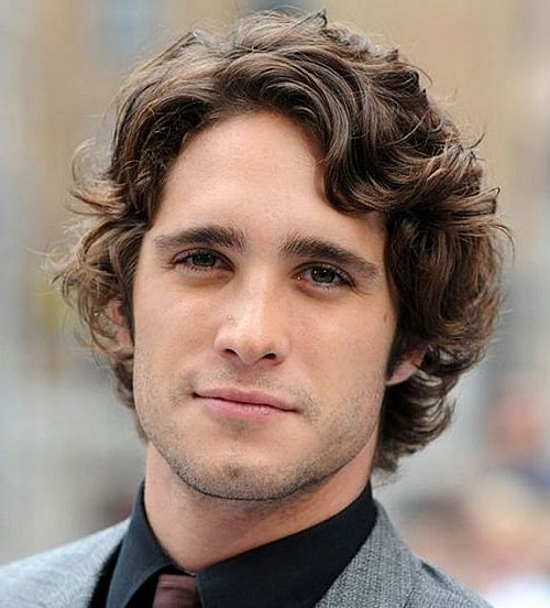 Hairstyles For Guys With Wavy Hair