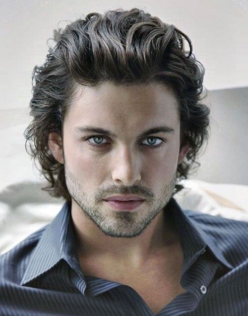 Mens Shoulder Length Hairstyles