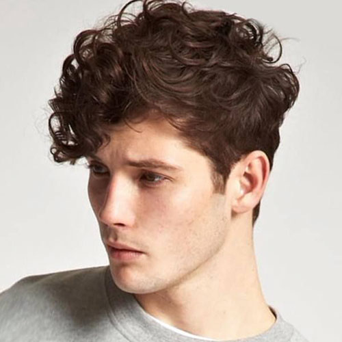 Guys With Wavy Hair Hairstyles