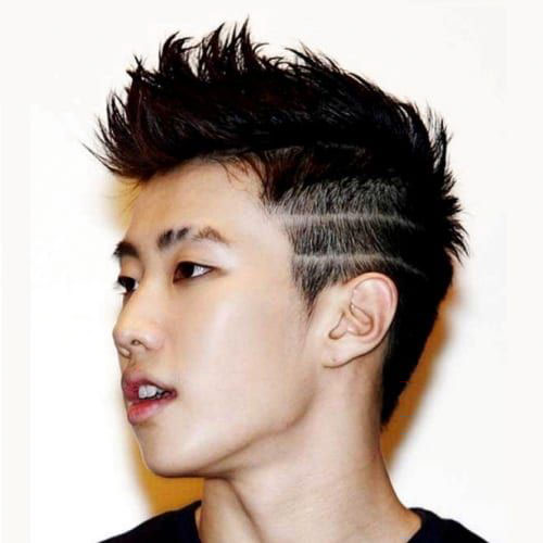 Drake Line Haircut