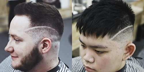 Double Line Haircut