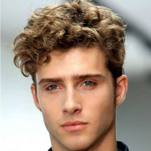 Curly Hair Mens Haircuts