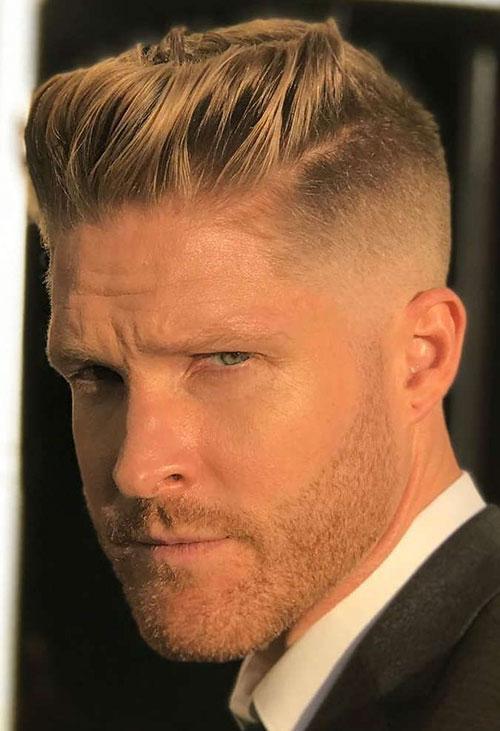 Mens Haircuts For Blonde Hair