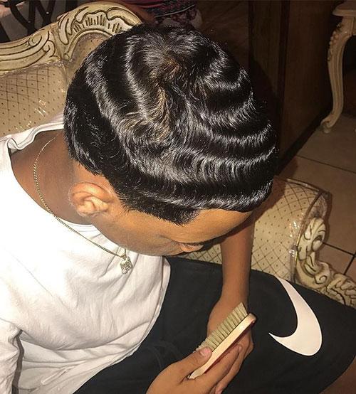 Guys Wavy Hairstyles
