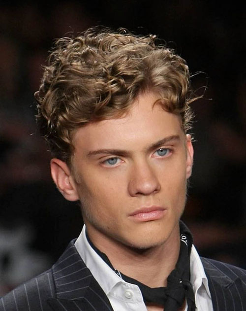 Hair Styles For Boys With Curly Hair