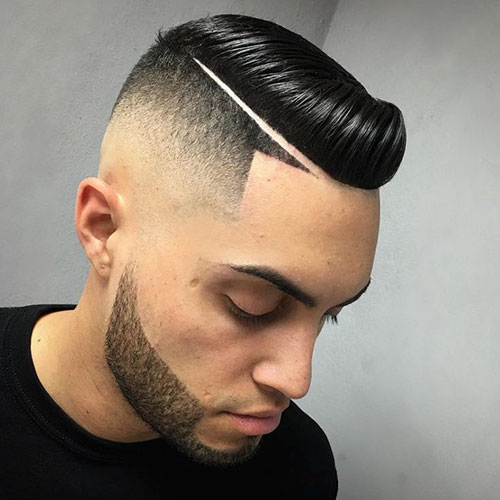 Mens Hairstyles With Line