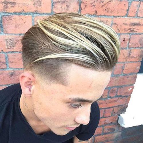 Blonde Hair Mens Hairstyles