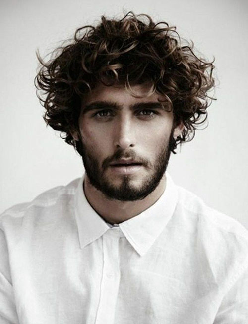 Hairstyle For Guys With Wavy Hair