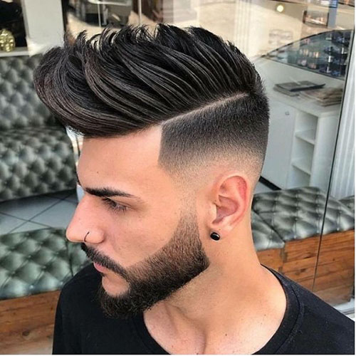 Mens Mohawk Fade Hairstyles